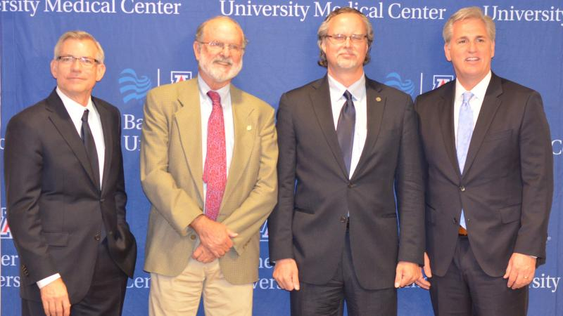 Banner University VF Press Conference